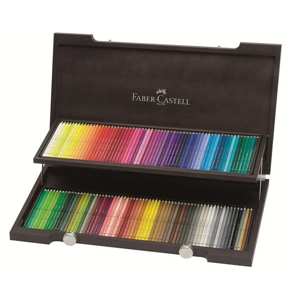 Faber Castell Albrecht Durer Watercolour Pencil Set Wooden Box