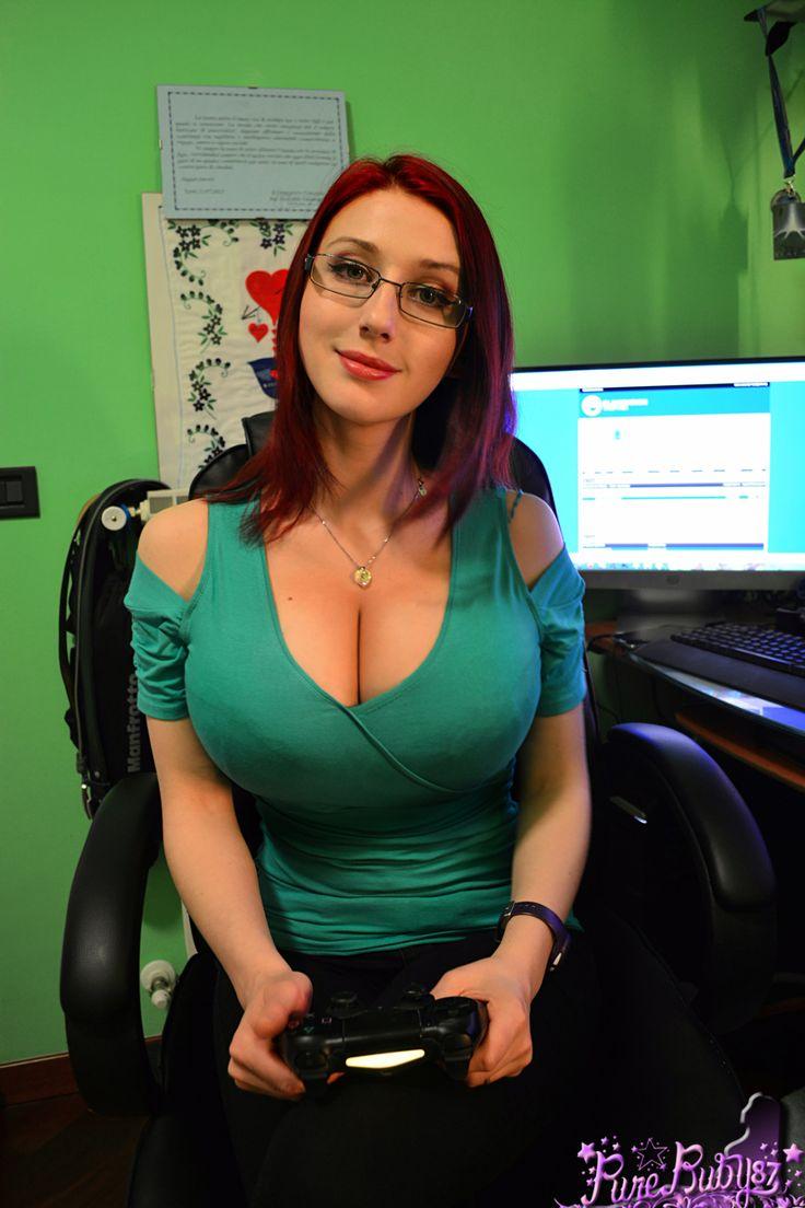 Big tits in clothes