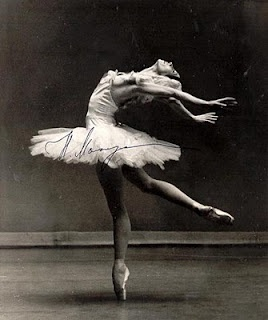 Natalia Makarova  I saw her dance Swan lake back in the 1970's - she was gorgeous!