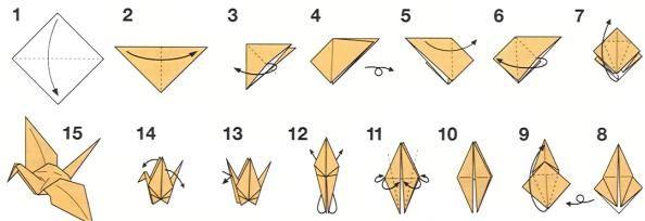Origami: zo vouw je een kraanvogel - Lifehacking