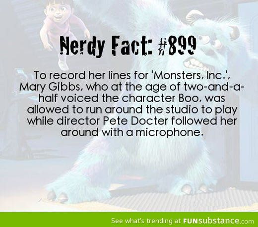 How Monsters Inc. Was made