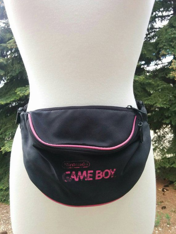 Check out this item in my Etsy shop https://www.etsy.com/listing/352141495/vintage-90s-game-boy-fanny-pack