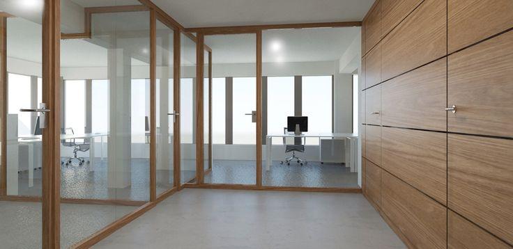Die besten 25+ Bürotrennwände aus Glas Ideen auf Pinterest Glas - wohnzimmer mit glaswnde
