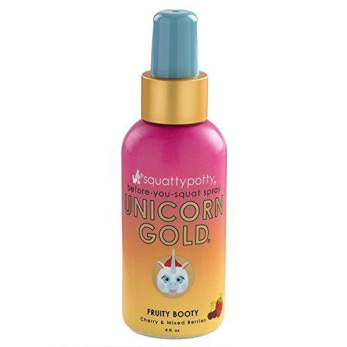 Squatty Potty Unicorn Gold Toilet Spray #PickledNickel, #SquattyPotty, #ToiletSpray, #Unicorn, #UnicornGold