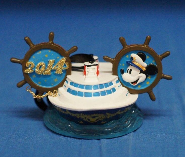 Disney Cruise Line 2014 Captain Mickey Ears Hat Ship