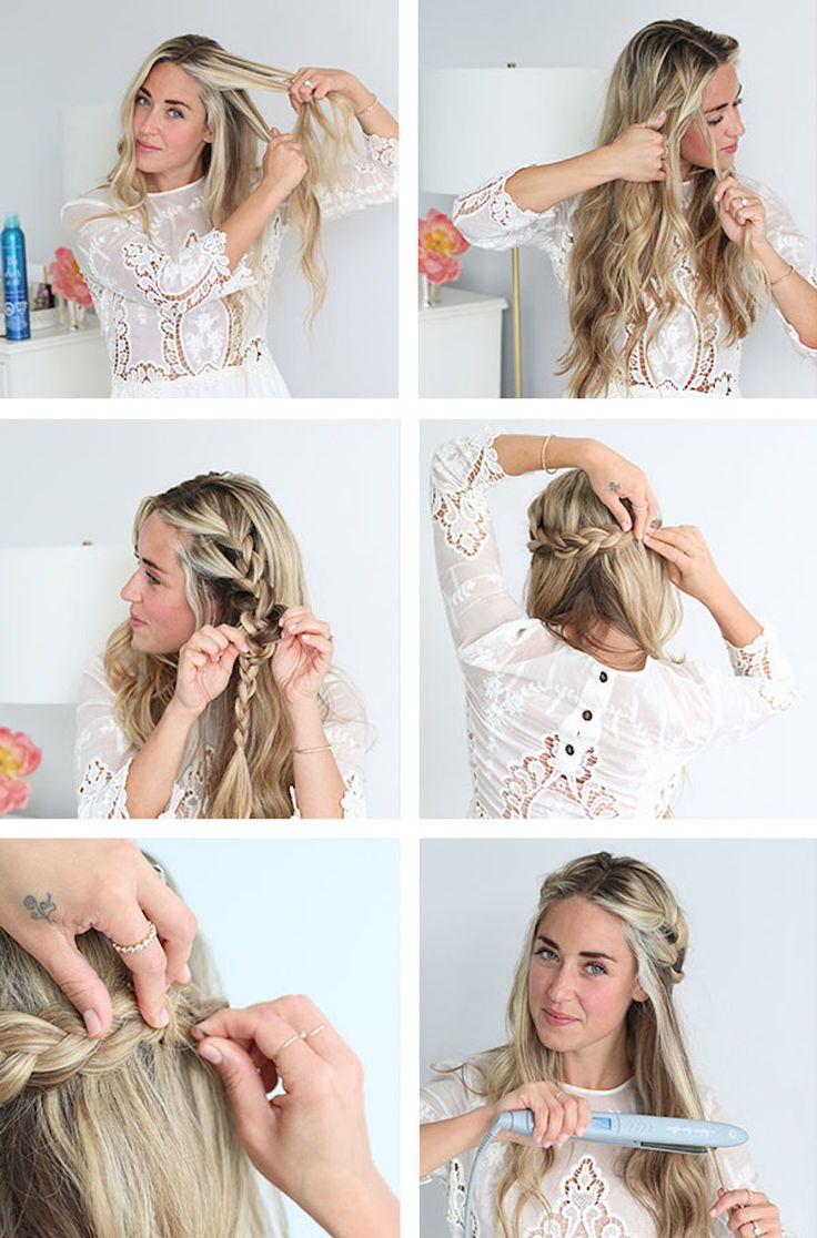 An Easy Braided Crown Tutorial