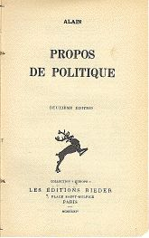 le philosophe Alain, Émile Chartier
