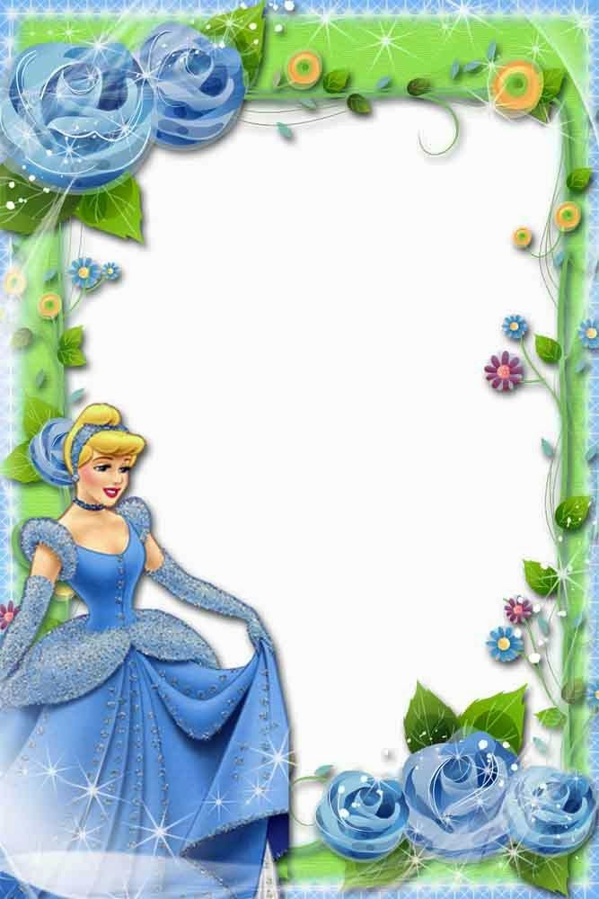 فريم روعة للاطفال Princess Frame Disney Frames Disney Scrapbook