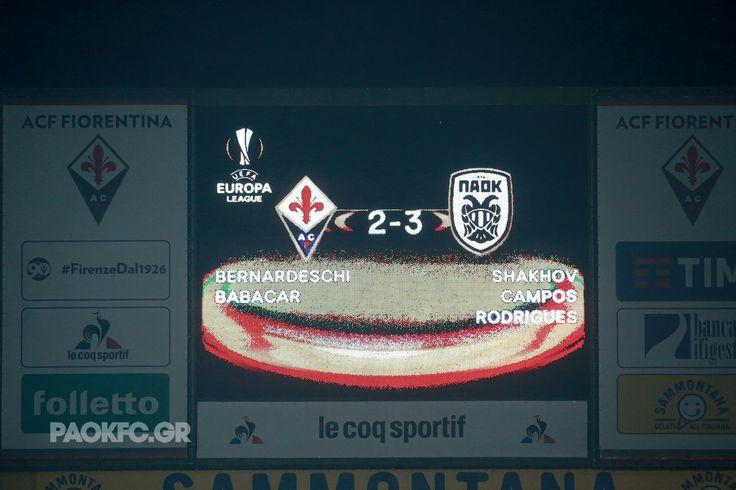 A historic win at #Firenze! #FIOPAOK #UEL #DreamBig #PamePAOKARA