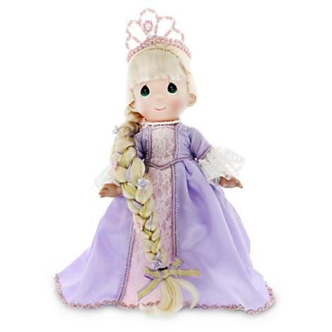 Precious Moments Collector Dolls | Disney Precious Moments Doll - Rapunzel Doll by Precious Moments