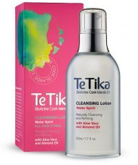 Te Tika Cleansing Lotion made with BioActive Cook islands oils. Almond oil and Aloe vera added to this cleansing lotion. It also contains pearl powder. Beautiful range
