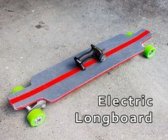 Picture of Electric Longboard