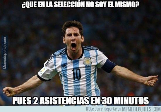 Memes de la goleada de Argentina 6-1 Paraguay (Semifinales - Copa América 2015) - Oye Juanjo!