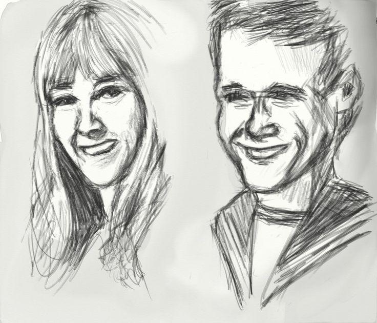 Polly Wright and Ben Jackson