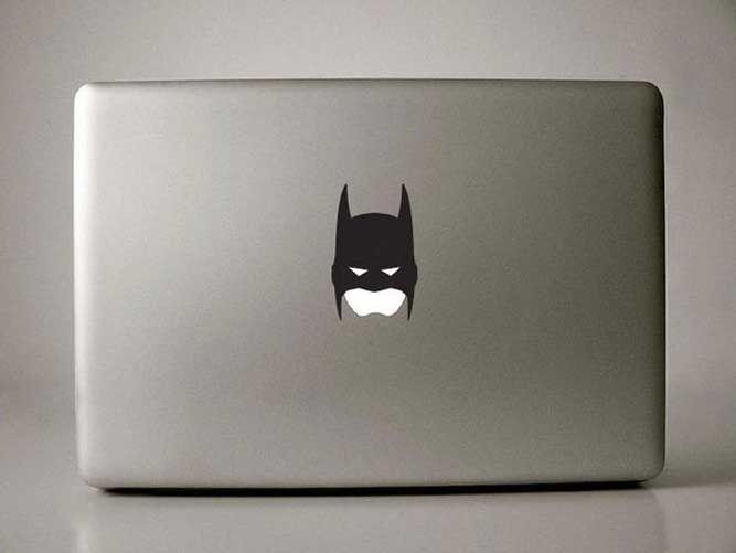 #Batman #MacBook #Decal: Vinyls Decals, The Notebooks, Stickers, Macbook Decals, Batman Decals, Apples, Batman Macbook, Dark Knights, Macbook Pro