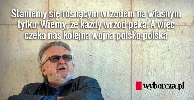 To może najważniejszy tydzień w dziejach współczesnej Polski. PiS chce zawrócić z europejskiej drogi ku demokracji, a to jest równoznaczne z wyprowadzeniem nas w stronę Uralu. Idiota jak chce pozamiatać drogę, musi umieć trzymać miotłę. U nas nie musi. Niedołęstwo kadry rządzącej partii rozlewa się jak breja z pękniętej rury kanalizacyjnej.
