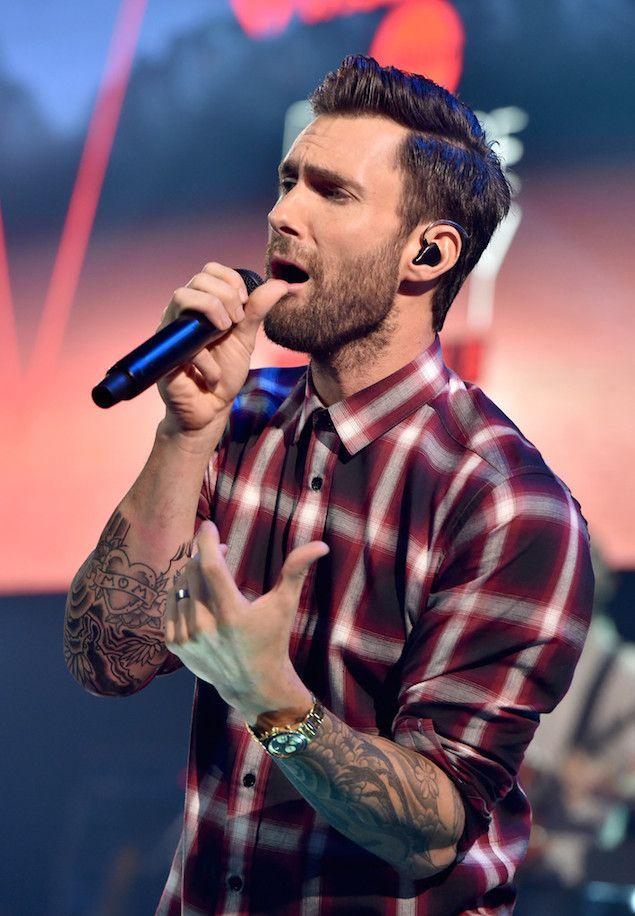 Adam Levine In Concert 🎤