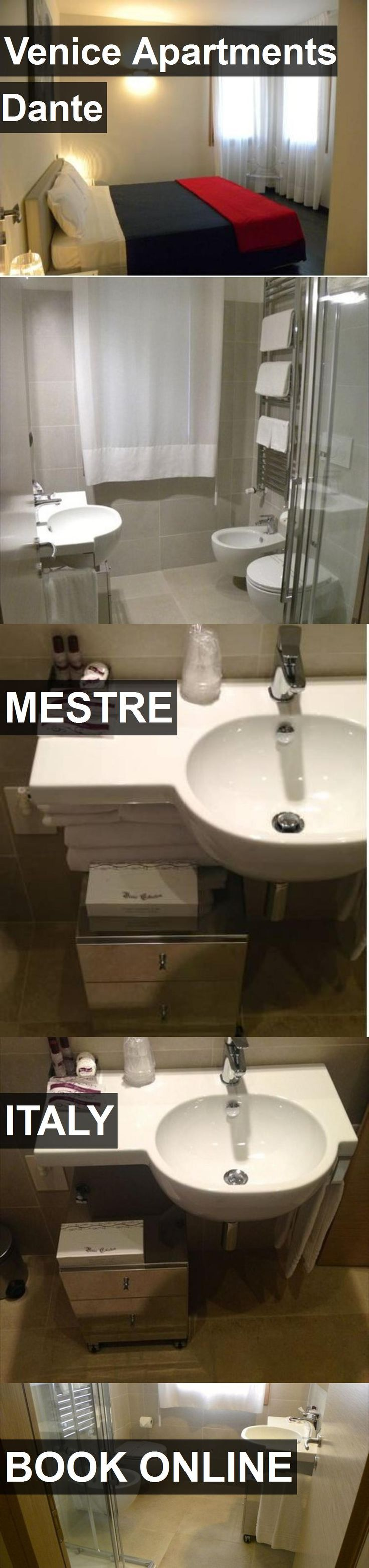 Hotel Venice Apartments Dante in Mestre, Italy. For more information, photos, reviews and best prices please follow the link. #Italy #Mestre #VeniceApartmentsDante #hotel #travel #vacation