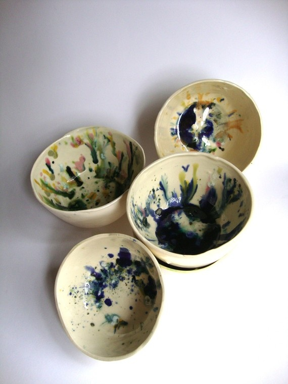 1000  images about Splatters Pottery Painting on Pinterest ...