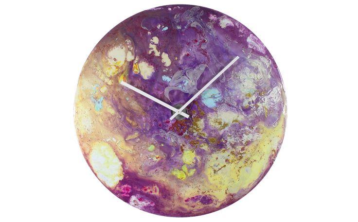 Large Purple Clock