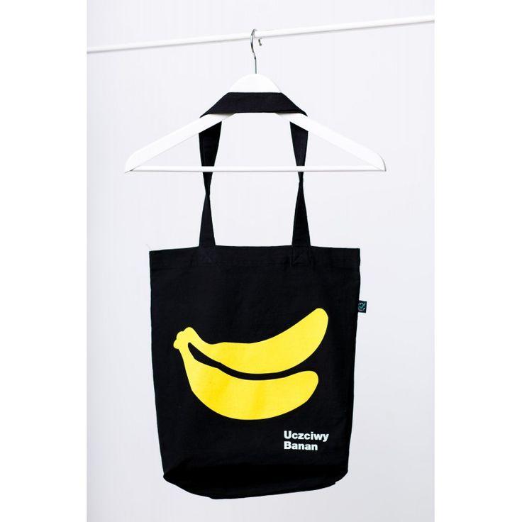 Uczciwy Banan. Torba z bawełny ekologicznej - Sklepik FKO