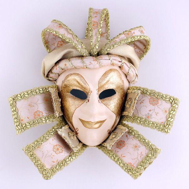 Ручная работа Интерьерная венецианская маска Вельможа