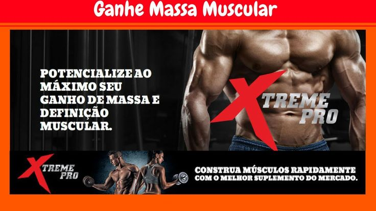 💪Suplemento Muscular XtremePro Como Ganhar Massa Muscular Rapidamente💪 CONSTRUA MÚSCULOS RAPIDAMENTE COM O MELHOR SUPLEMENTO DO MERCADO.   Ganhar massa muscular é mais uma necessidade nos dias de hoje do que qualquer moda ou tendência.Click no Link Para Conhecer o Suplemento Muscular Xtreme Pro:💪👉 http://seumaiornegocio.com.br/xtremepro  #seumaiornegocio @seu_maior_negocio  https://www.youtube.com/watch?v=fsnfZhdrgk4&t=16s
