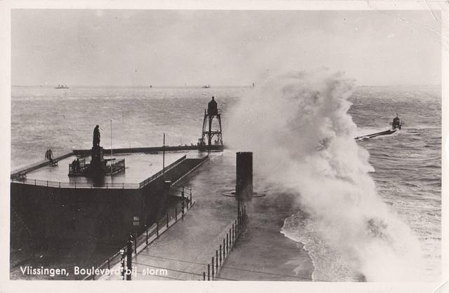 Vlissingen Lighthouse - 1952