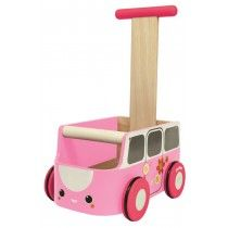 + Yürüteç pembe 1yr ait oyuncaklar taşınmasını Plan