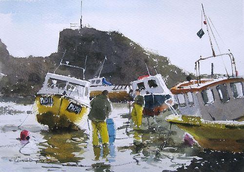 Bude-Fishermen-Cornwall-Ken-Hayes