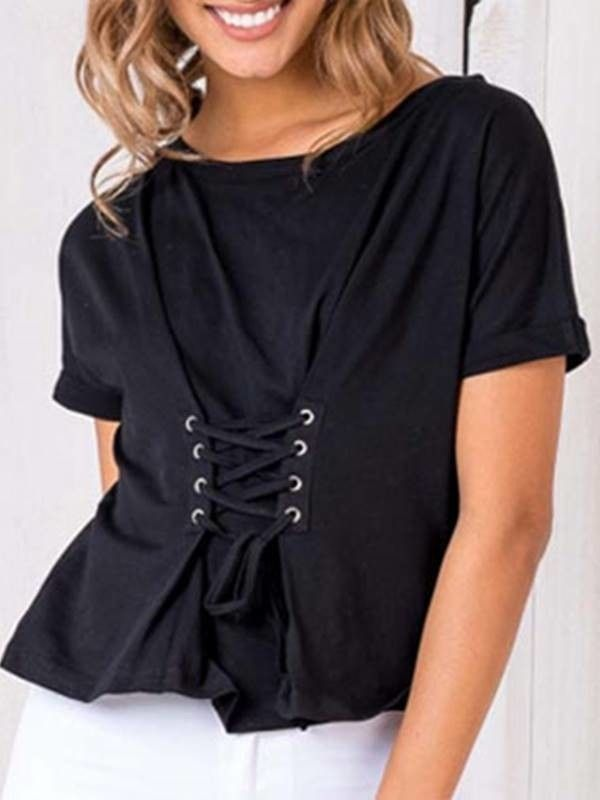 Camiseta Espartilho - Compre Online | DMS Boutique