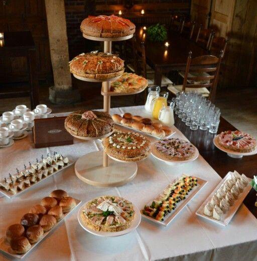 Lunch buffet bij Erve Beverborg. Heerlijk tijdens bijvoorbeeld een bruiloft of vergadering. Meer informatie via Paviljoen Lutterzand www.Lutterzand.nl