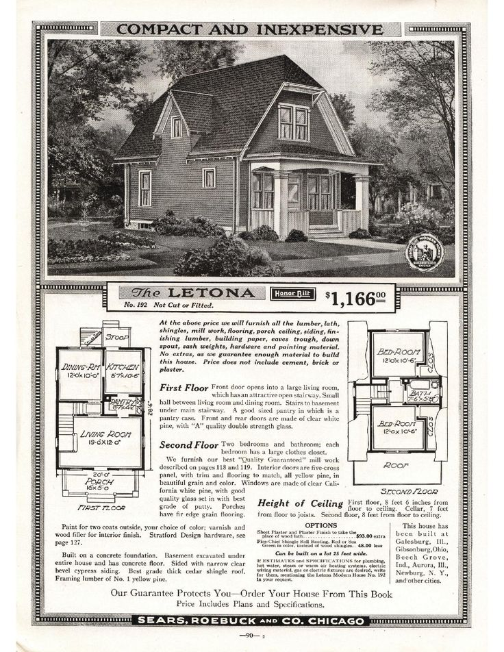 1080 best Sears Kit Houses images on Pinterest | Vintage houses ...