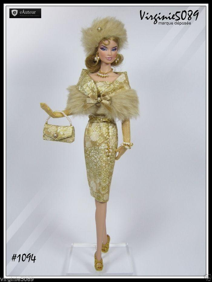 Tenue Outfit Accessoires Pour Fashion Royalty Barbie Silkstone Vintage 1094   eBay