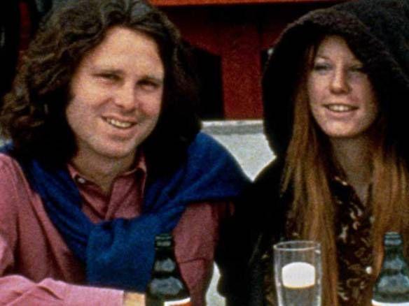 Jim and Pam Morrison | Jim y Pamela en Paris, Jim solo viviría algunas semanas más .