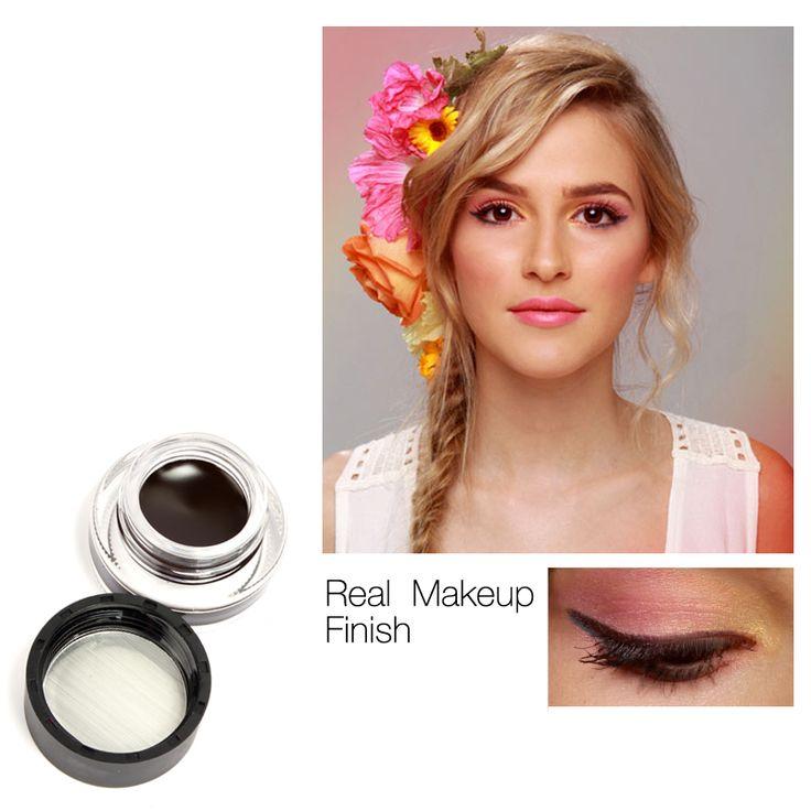 Water-proof And Smudge-proof Cosmetics Set Eye Liner Kit in Eye Makeup Gel Eyeliner by Music Flower