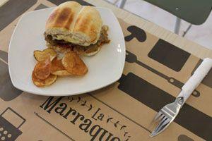 Picadas de sándwiches La Marraquette Dirección: Bucarest 33, Providencia.
