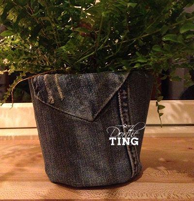 DortheTING urtepotteskjuler