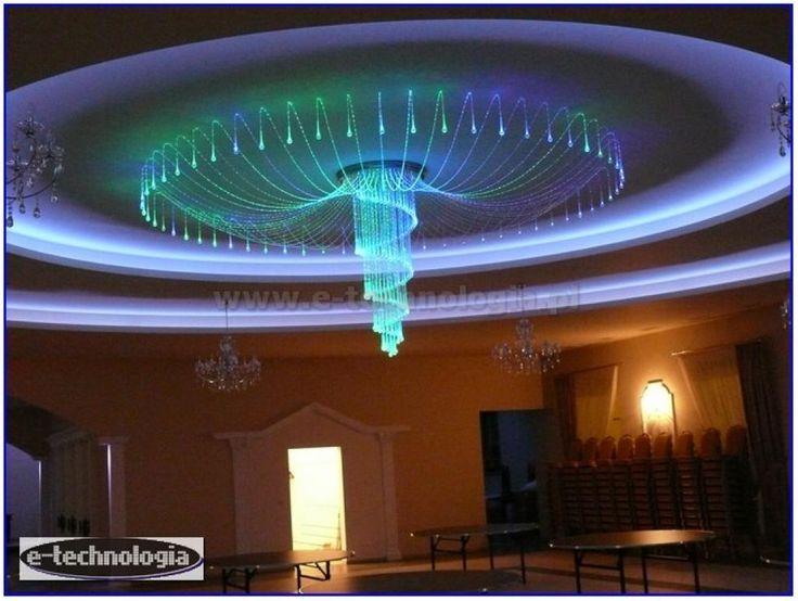 lampy oświetleniowe - oświetlenie ozdobne do sali - sala weselna aranżacje e-technologia