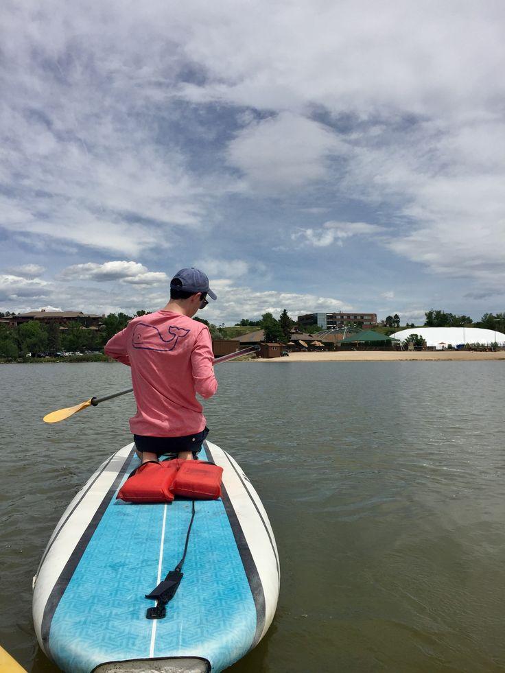 Lakes, paddle boards, and vineyard vines, summer is definitely off to a good start. ~@thomas.shade instagram https://www.instagram.com/p/BVi2EBAjnrt/