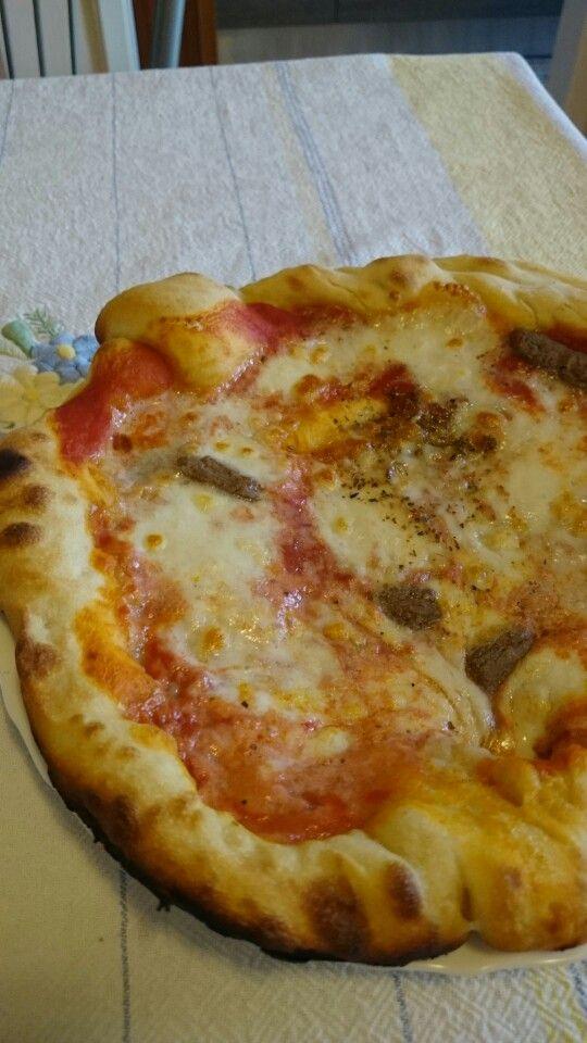 Licoli farina saragolla pizza