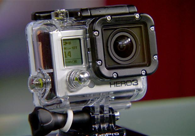The GoPro Hero3 Black edition is the best sports camera on the market.