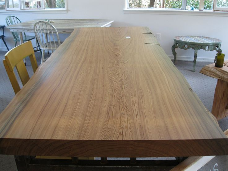 Table In Florida | Sinker Cypress Slab Table «