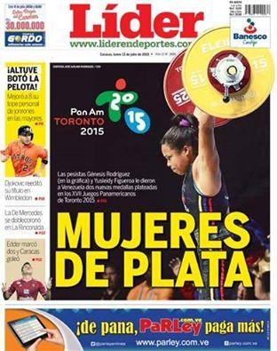 Es with medallas   shoes dos nuestra DE de jeans         Portada del   PLATA logr     en casual L  der        TO        julio de portada MUJERES   best plata        Venezuela