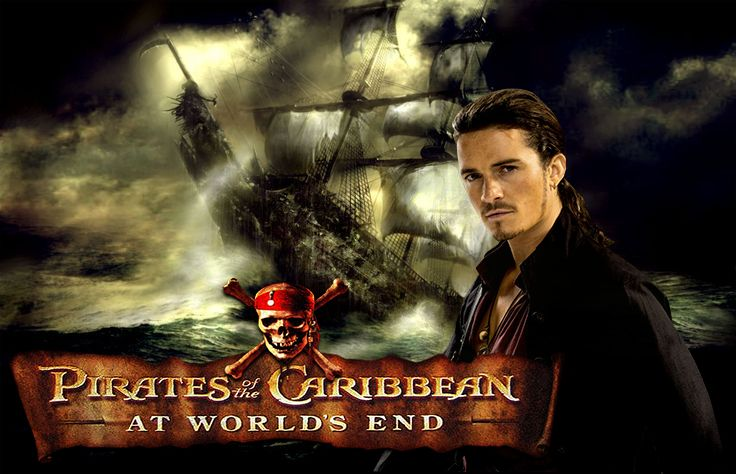 pirates of caribbean will turner and the flying dutchman