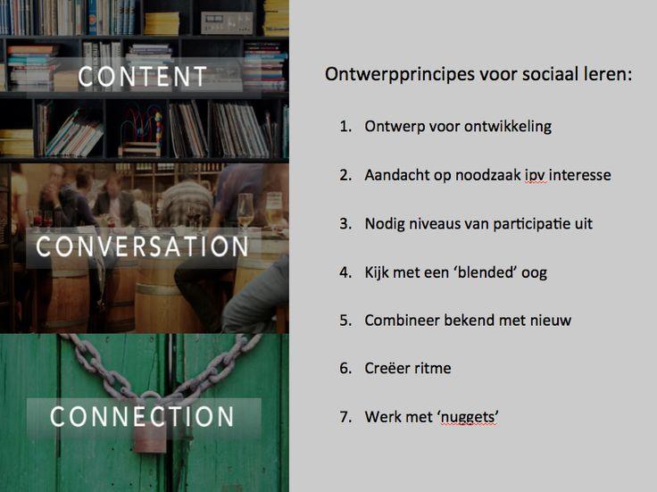 Handout over faciliteren van sociaal leren/ online interactie. Hoe zorg je dat er echt wat gebeurt?