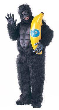 Traje de gorila Músculo Animal Pecho - Disfraces Adultos