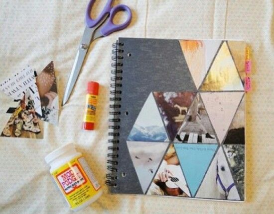 Credit to @/fabuloustutorials on instagram, cute idea for the front of a notebook or something similar