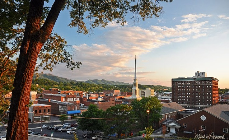 Johnson City, Tennessee--More specifically, Munsey Church which is what is mainly pictured here :)