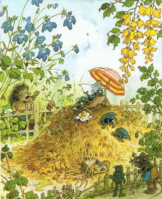 17 best images about illustraties fritz baumgarten on for Baum garten